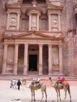 Petra - Schatzhaus des Pharao / Khazne al-Firaun