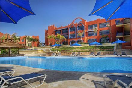 Pools area -