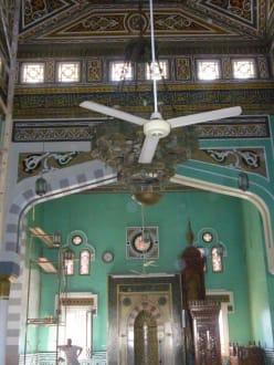 Blick in die Moschee - Stadtrundgang Hurghada