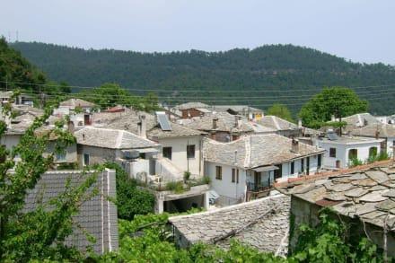 Die Dächer von Panagia - Bergdorf Panagia