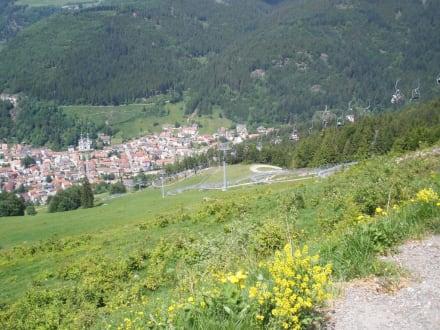 Aussicht vom Hasenhorn auf Todtnau - Rodelbahn Todtnau