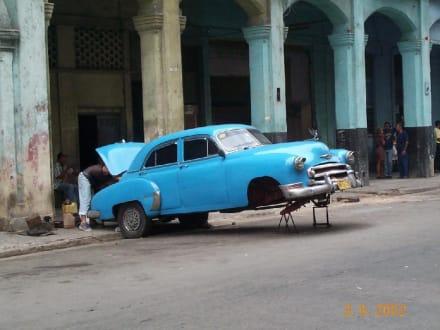 Kubanische Werkstatt - Transport