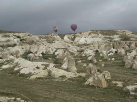 Flug über Kappadokien - Ballonfahrt Kappadokien