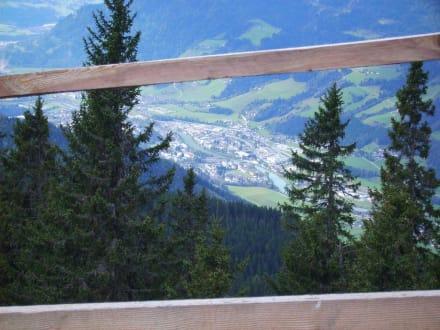 Aussicht vom Heinrich Kienerhaus - Hochgründeck