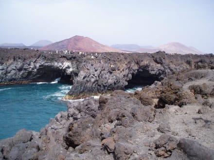 El Golfo: Los Hervideros - Strand El Golfo