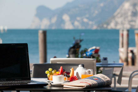 Breakfast buffet by Hotel Lago di Garda -
