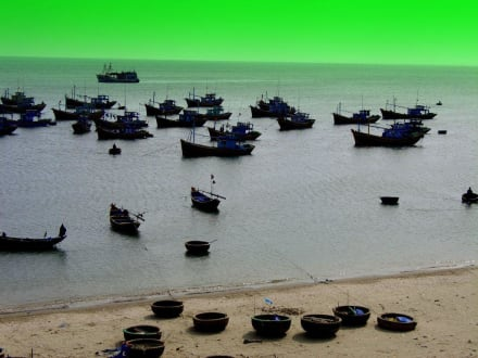 Idylle - Fischereihafen Mui Ne