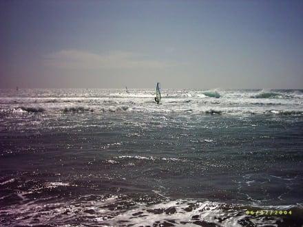 Surfer am Strand von Maspalomas - Strand Maspalomas