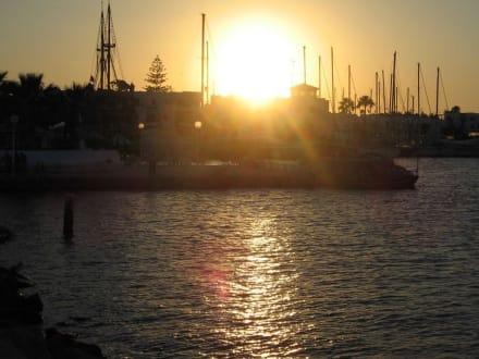 Sunset über Port El Kantaoui - Yachthafen Port el Kantaoui