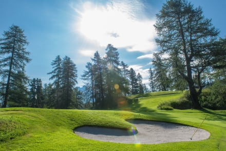 Kulm Golf Course - Kulm Golf St. Moritz