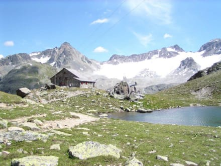 hütte - Grialetschhütte in Davos