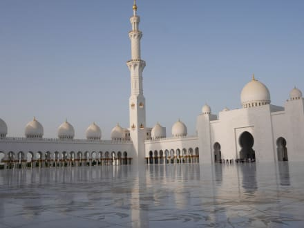 Abu Dhabi Moschee  - Scheich Zayed Grand Moschee