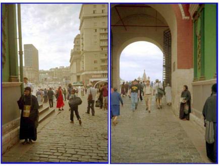 Im Tor des Roten Platzes in Moskau - Roter Platz