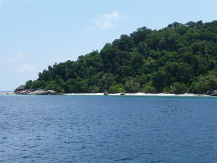 Bei den Similan Inseln - Similan Islands
