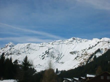 Aussicht vom Hotel aus - Résidence du Soleil
