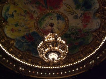 Die Decke im Zuschauersaal - Oper Garnier