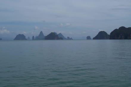Traumhafter Anblick - Phang Nga Bucht/Nationalpark Ao Phang Nga