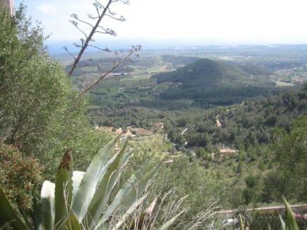 Castell de Santueri - toller Blick! - Castell de Santueri
