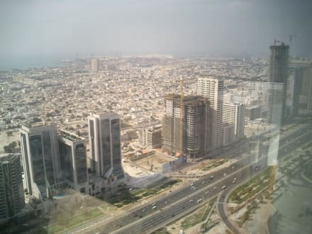 Aussicht auf Dubai - Zentrum Dubai