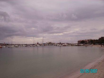 Fernblick auf den Hafen - Yachthafen Colonia Sant Jordi