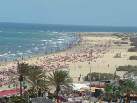 Strand von Playa de Ingles - Strand Playa de Amadores