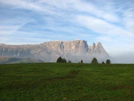 Wandergebiet am Schlern Seiseralm Naturpark  - Schlern
