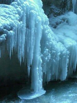 Eissäulen in der Partnachklamm - Partnachklamm