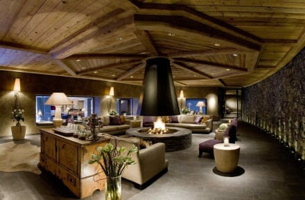 Spa Lounge - Gstaad Palace