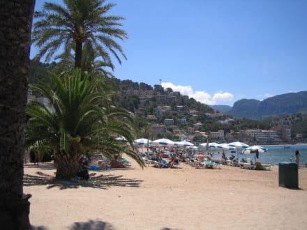 Strand von Puerto de Soller - Strand Puerto de Soller/Port de Soller
