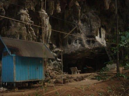 Wohnungen der Mönche und Nonnen - Tiger Cave Tempel (Wat Tham Sua)