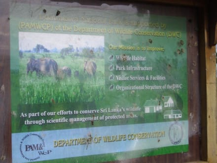 Nationalpark Uda Walawe - Nationalpark Udawalawe