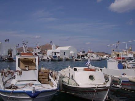 Fischerbote - Hafen Naoussa