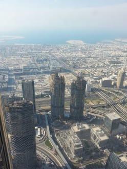 Auf dem höchsten Gebäude der Welt - Burj Khalifa