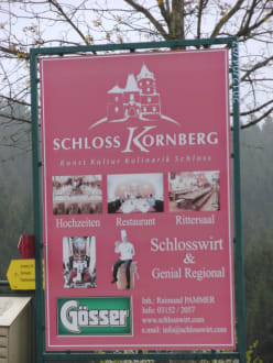 Historic sites (castle, palace, ruins, etc.) - Kornberg Castle