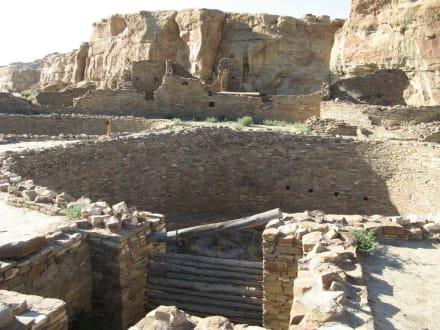 Kiva im Pueblo Bonito im Chaco Canyon - Chaco Culture National Historical Park
