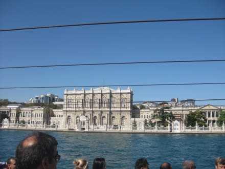Blick auf den Sultans Palst - Bosporus Fahrt