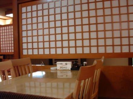 Tisch im Nippon-Kan - Nippon-Kan