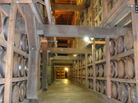 Lagerhalle - Jack Daniels Distillery