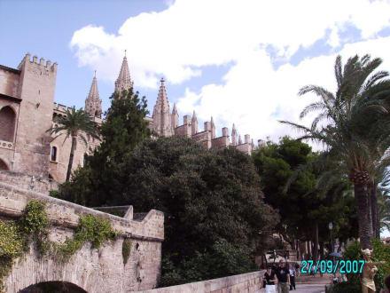 Blick vom Meerespark - Kathedrale La Seu