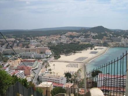 Hauptstrand von Santa Ponsa - Strand Santa Ponsa/Ponça