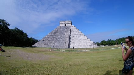 Große Pyramide Chichen Itza - Ruine Chichén Itzá