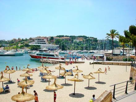 Strand und Hafen - Yachthafen Porto Cristo