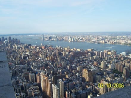 Ausblick vom Empire State Building - Empire State Building