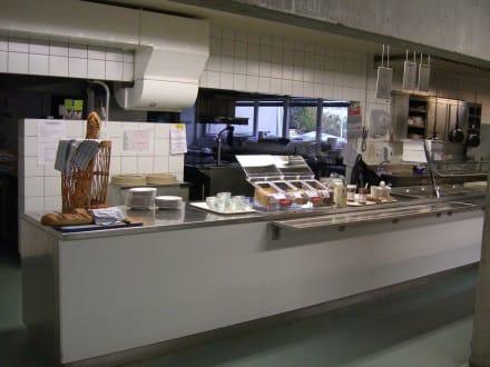Frühstücksbuffet - Jugendherberge Lausanne Jeunotel