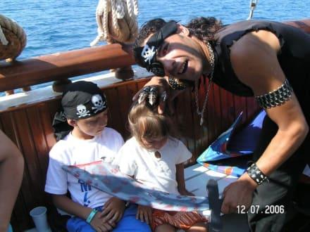 Piratenschiff Tour - Piratenschifffahrt Hammamet-Yasmine