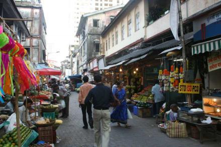 Markt - Bombay