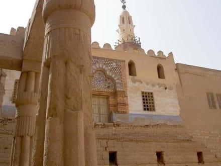 Luxor-Tempel  Moschee Abu' l -Haggag - Luxor Tempel