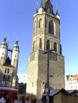 Roter Turm am Markt, Halle - Roter Turm