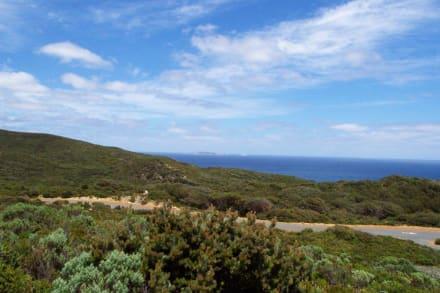 Aussicht von der Wind - Farm - Albany Wind-Farm