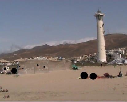 Der Leuchtturm - Strand Jandia